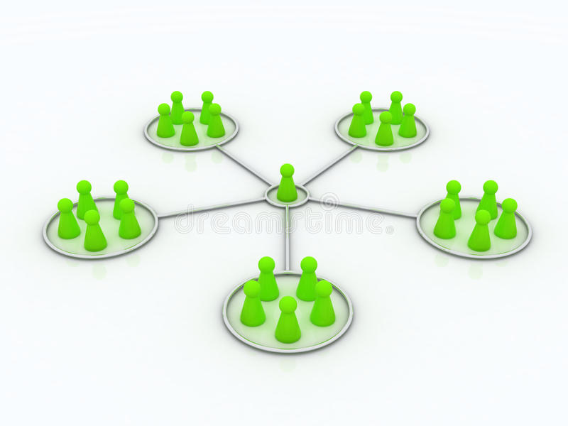 Download Affiliate Program. Network. Stock Illustration - Image: 14187946