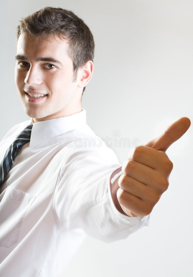 Download Affirmative! stock photo. Image of executive, businesspeople - 1582584