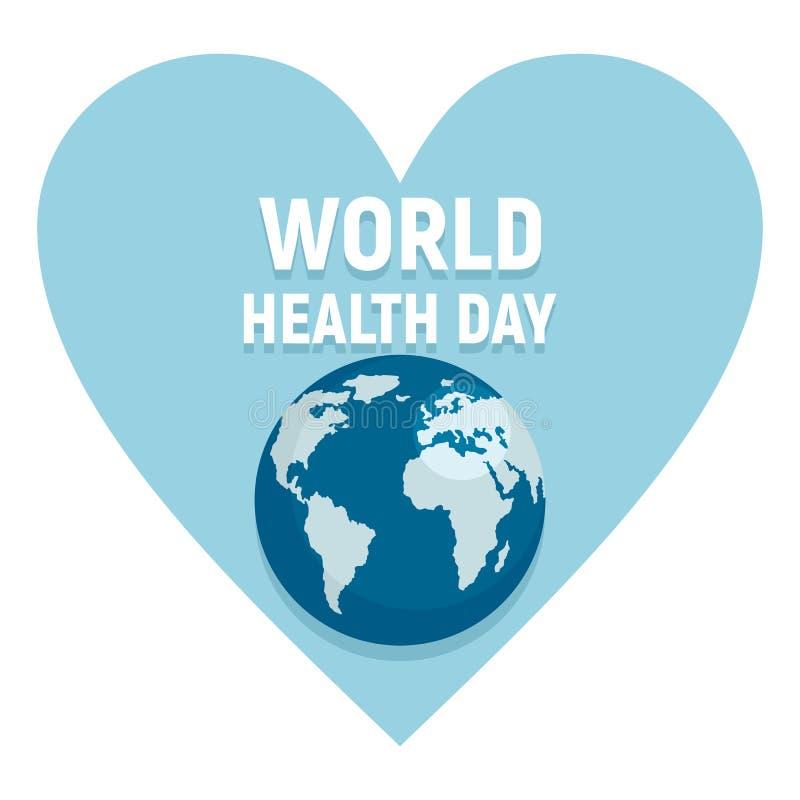 Affisch för vektor för dag för världshälsa arkivbilder