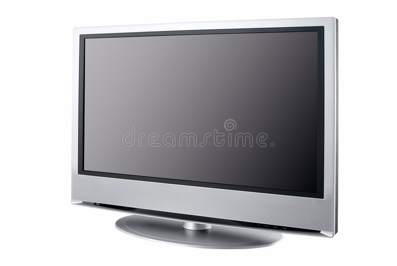 Affissione a cristalli liquidi di qualità superiore TV immagini stock libere da diritti