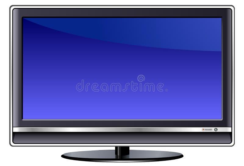 AFFISSIONE A CRISTALLI LIQUIDI TV illustrazione vettoriale