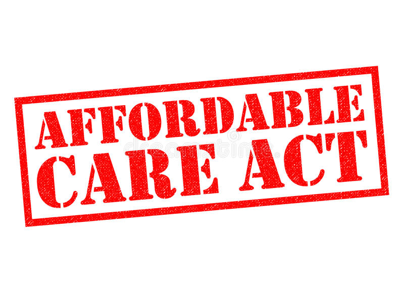 AFFORDABLE CARE ACT vector illustration