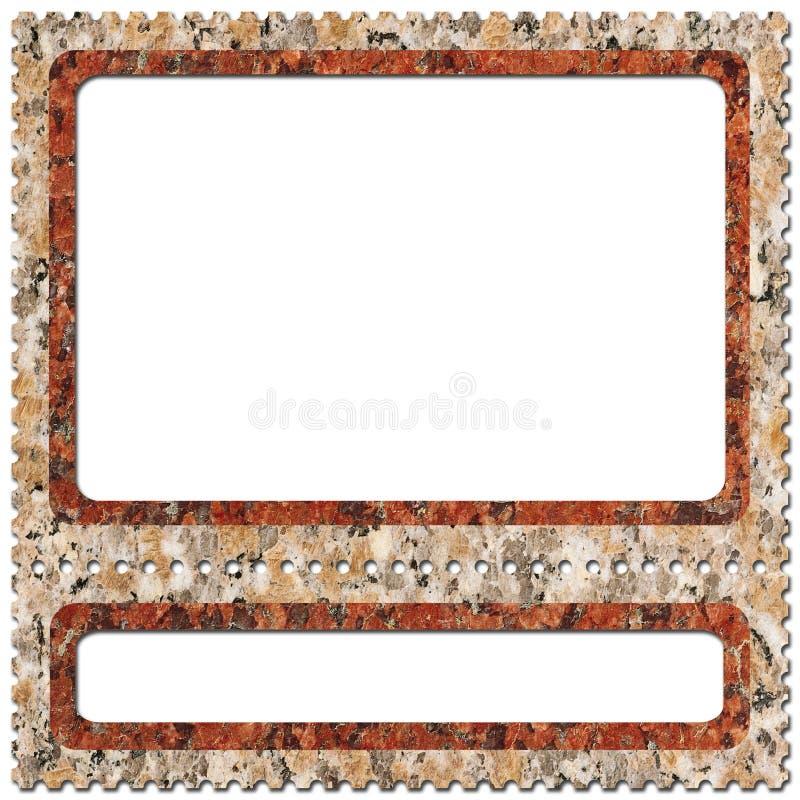 Affrancatura-timbri 4 royalty illustrazione gratis