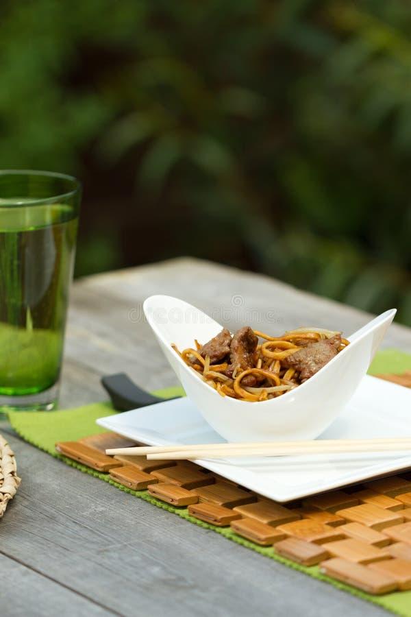 Affresco di Al del mein del cibo del manzo immagine stock