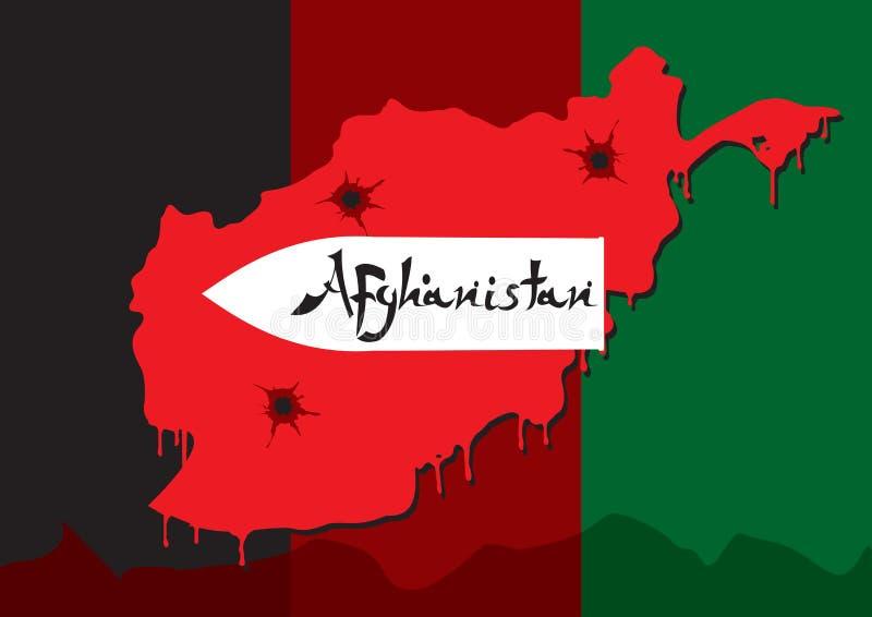 afgańczyk wojna ilustracji