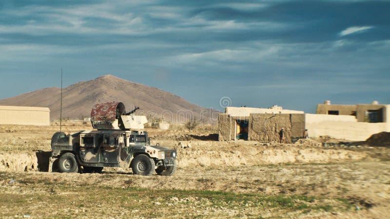 afgański wojska obywatela pojazd obrazy stock