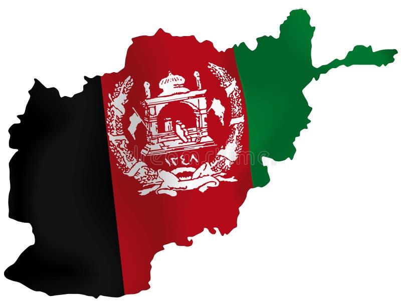 Afganistan royalty ilustracja