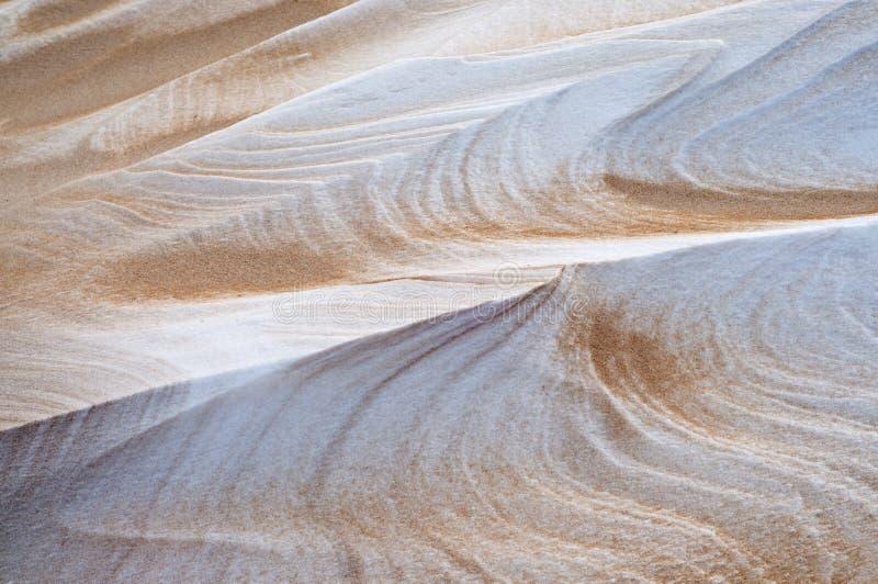 Afgedreven Sneeuw en Zand royalty-vrije stock afbeelding