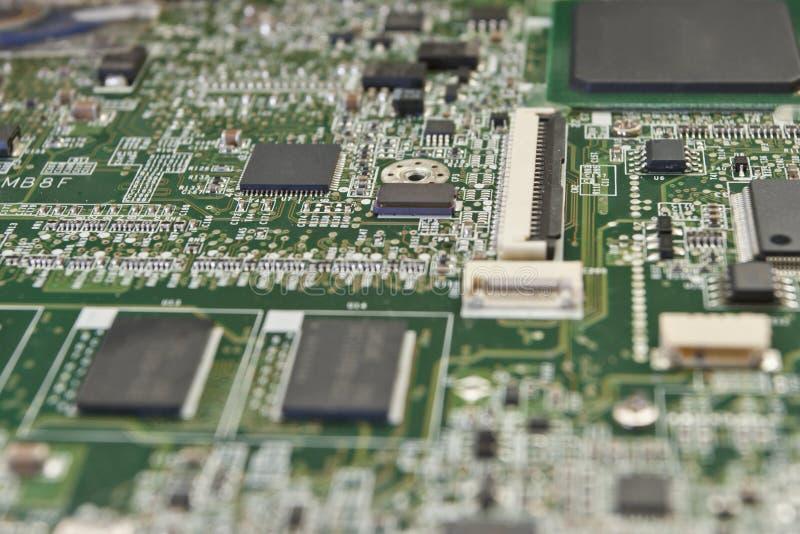 Afgedrukte kringsraad voor elektronische componenten royalty-vrije stock fotografie