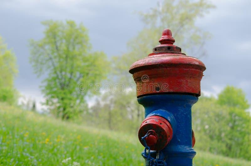 Afgetapte Hydrant royalty-vrije stock fotografie