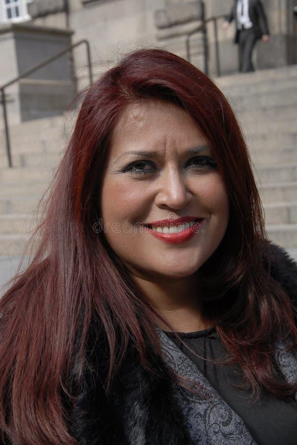 Afgevaardigde van de irlanda de maya_medican pers van Claudia royalty-vrije stock foto's