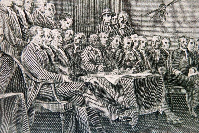 Afgevaardigdeconferentie stock afbeelding