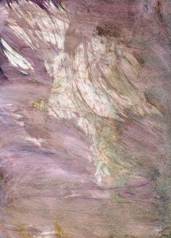 Afgeveegde watercolour textuur stock afbeelding