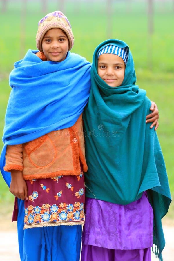 Afghaanse meisjes royalty-vrije stock foto's