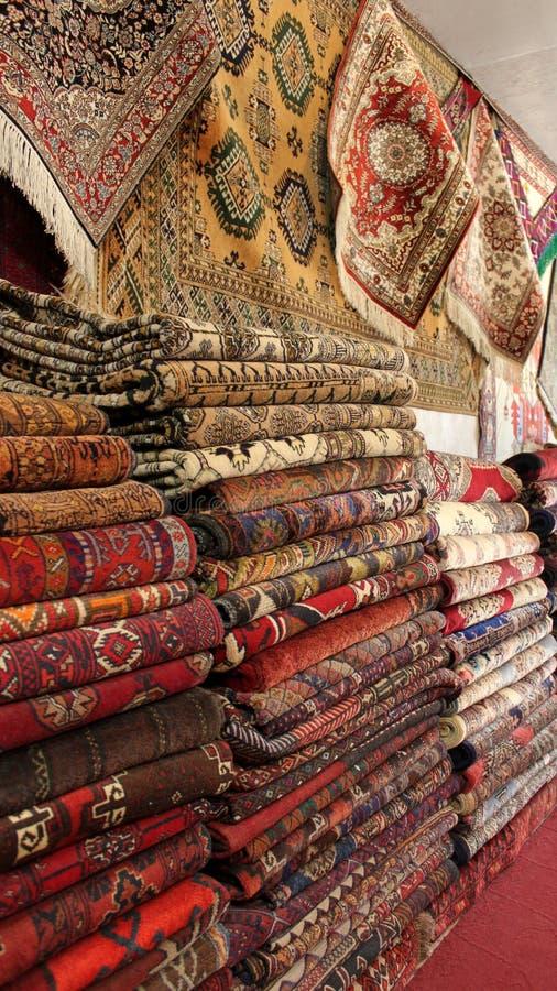 Afghaanse tapijten stock fotografie
