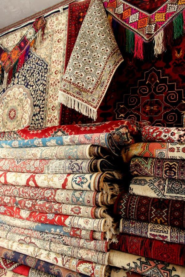 Afghaanse tapijten royalty-vrije stock foto's