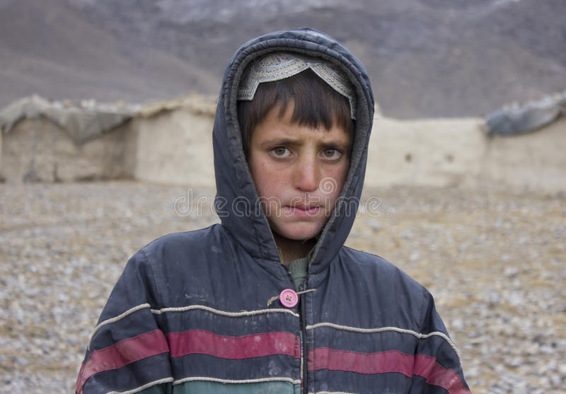 Afghan Boy Editorial Stock Photo