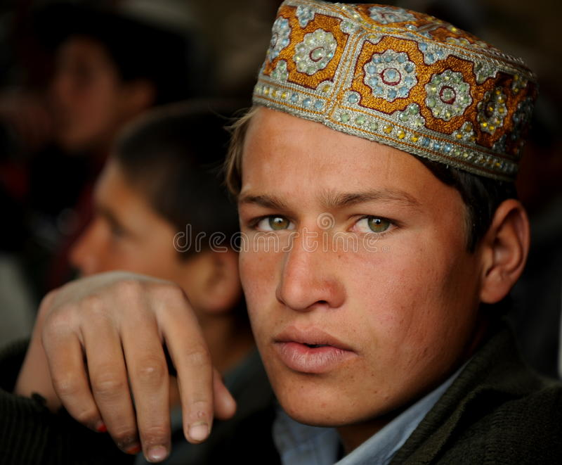 Afghan student stock photography
