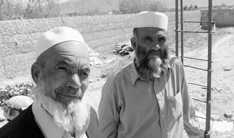 Afghanische Arbeitskräfte lizenzfreies stockfoto
