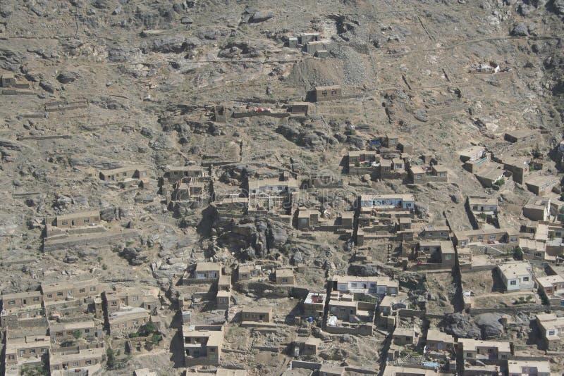 Afghanistan auf dem Luftweg lizenzfreie stockfotografie