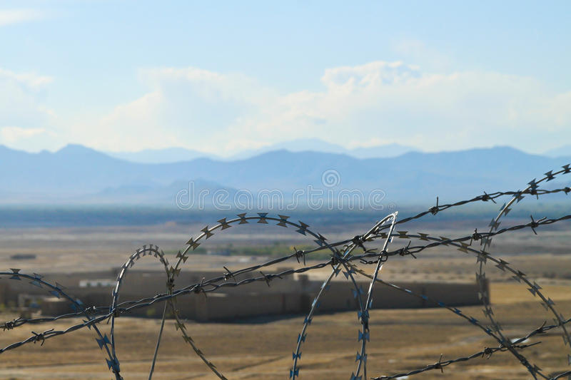 Download Afghanistan - Country Behind The Fence Stock Image - Image of unfriendly, military: 21567543