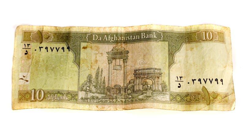Afghanistan Currrency royalty-vrije stock foto