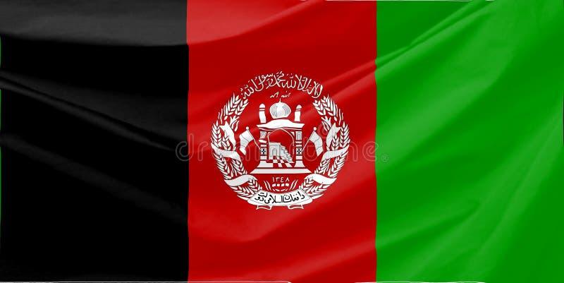Download Afghanistan Flag stock illustration. Illustration of sign - 6333828
