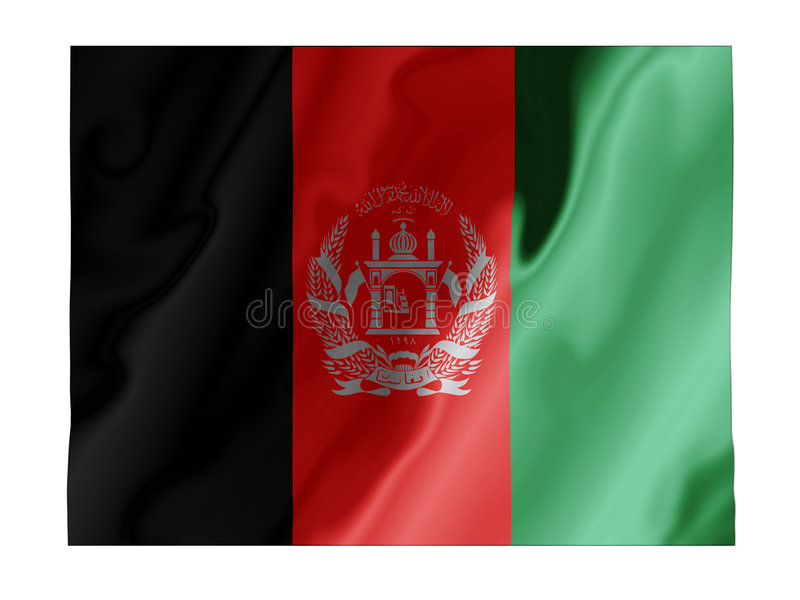 Download Afghanistan flutter stock image. Image of country, pride - 4838107