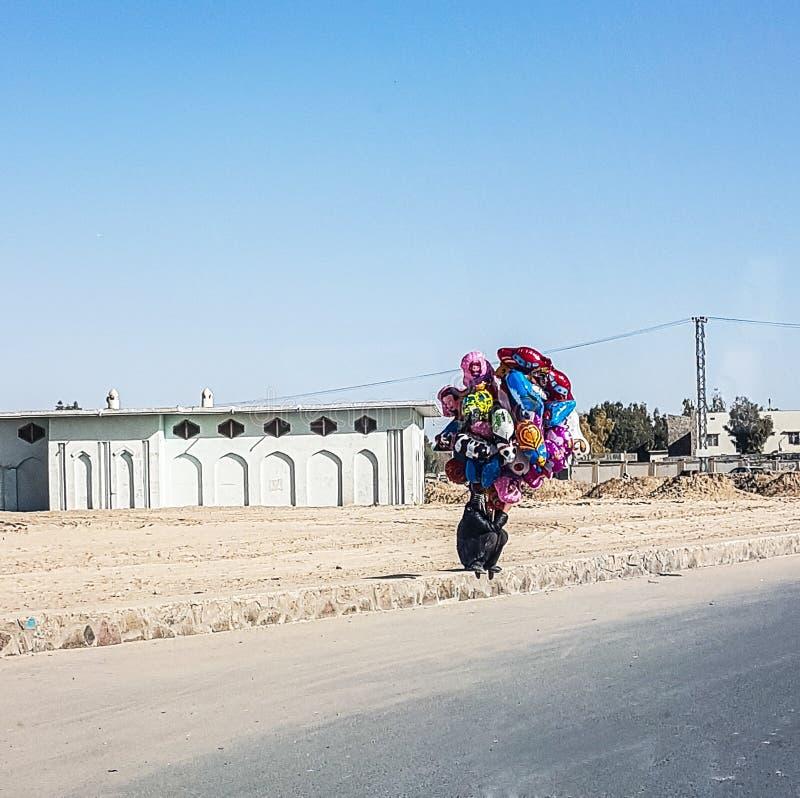 Afghanistan gataliv royaltyfri foto
