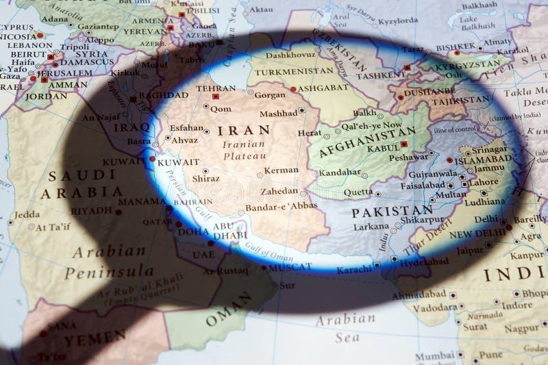 afghanistan iran pakistan arkivbild