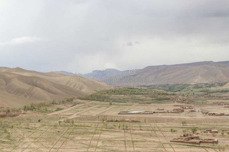 Afghanistan van de lucht royalty-vrije stock foto's