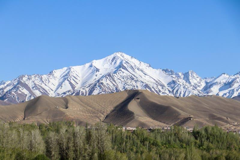 Afghanistan von der Luft stockbild