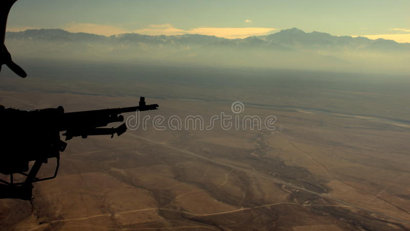 Afghanistan von oben stockfotos