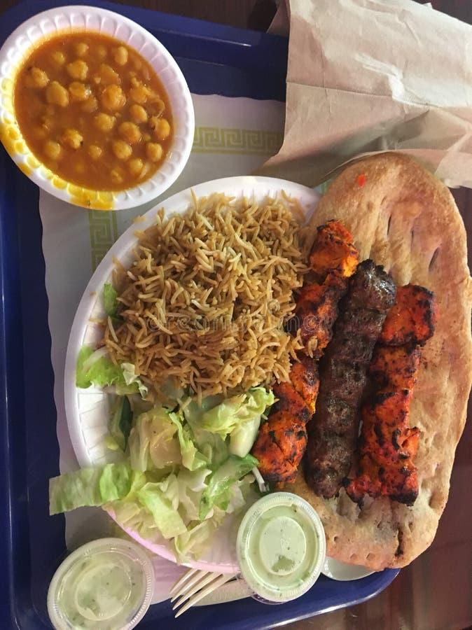 Afghansk kebab royaltyfria foton