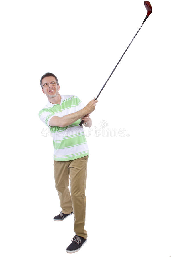 Download Afición del golf imagen de archivo. Imagen de actividades - 44852483