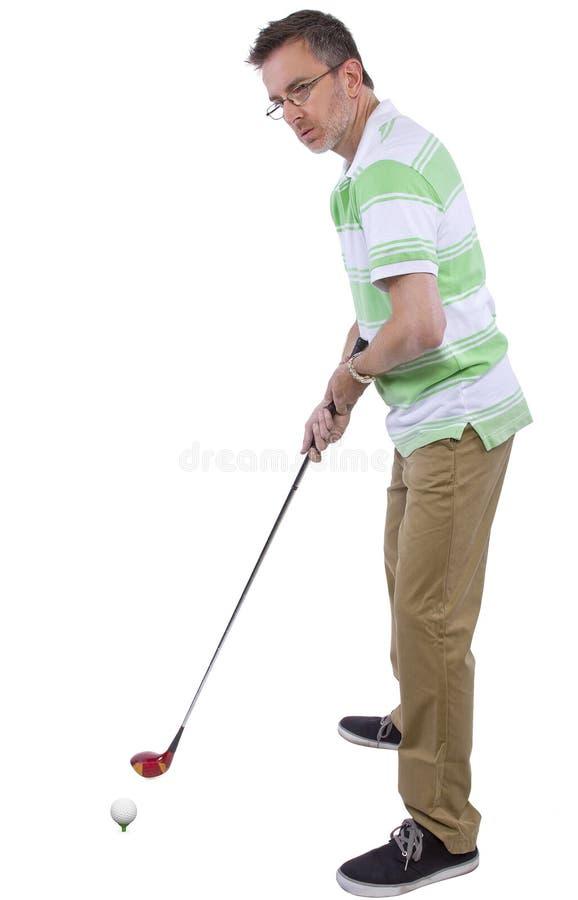 Download Afición del golf foto de archivo. Imagen de hombre, individuo - 44852488