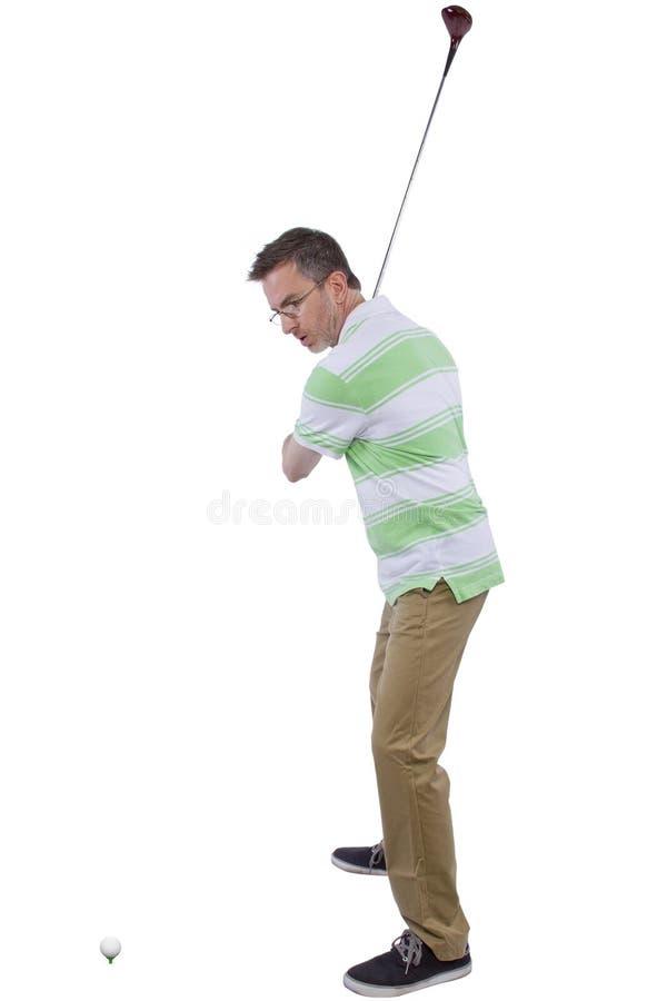 Download Afición del golf foto de archivo. Imagen de individuo - 44852564