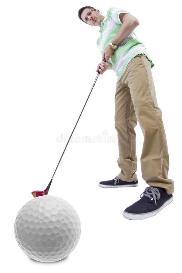 Download Afición del golf imagen de archivo. Imagen de fondo, competición - 44852843