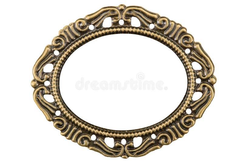 Afiligranado bajo la forma de marco, elemento decorativo para w manual imagenes de archivo