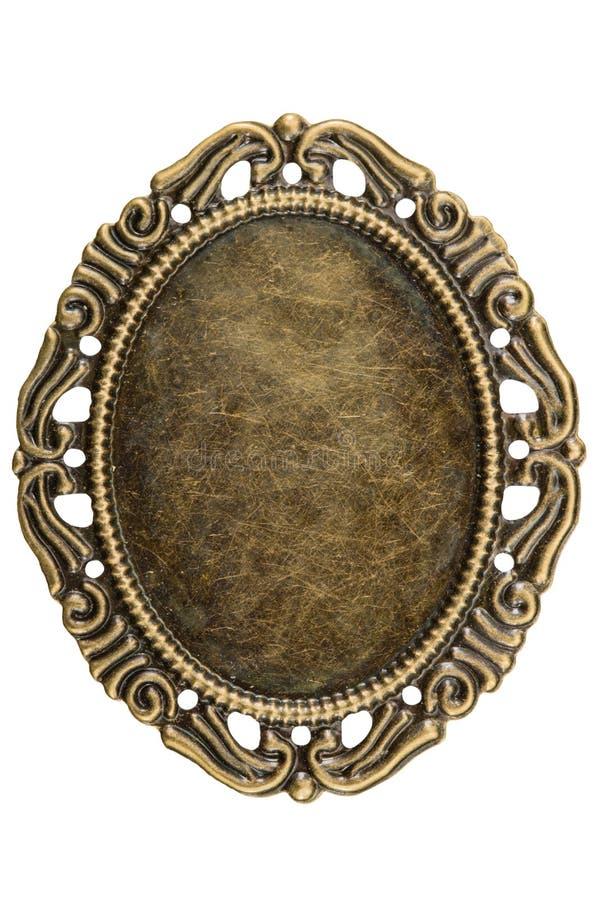 Afiligranado bajo la forma de marco, elemento decorativo para w manual imágenes de archivo libres de regalías