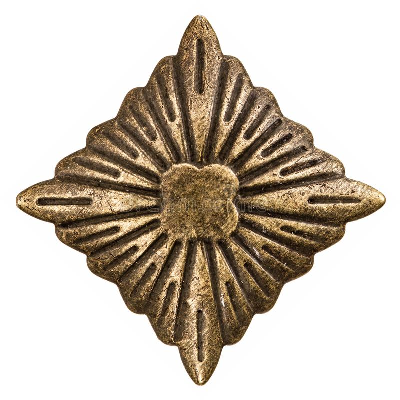 Afiligranado bajo la forma de Rhombus, elemento decorativo para el manual fotografía de archivo libre de regalías