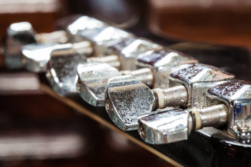 Afinador da guitarra imagem de stock royalty free