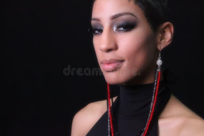 afircan αμερικανική γυναίκα στοκ φωτογραφίες