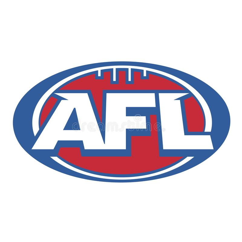 AFL-symbol stock illustrationer
