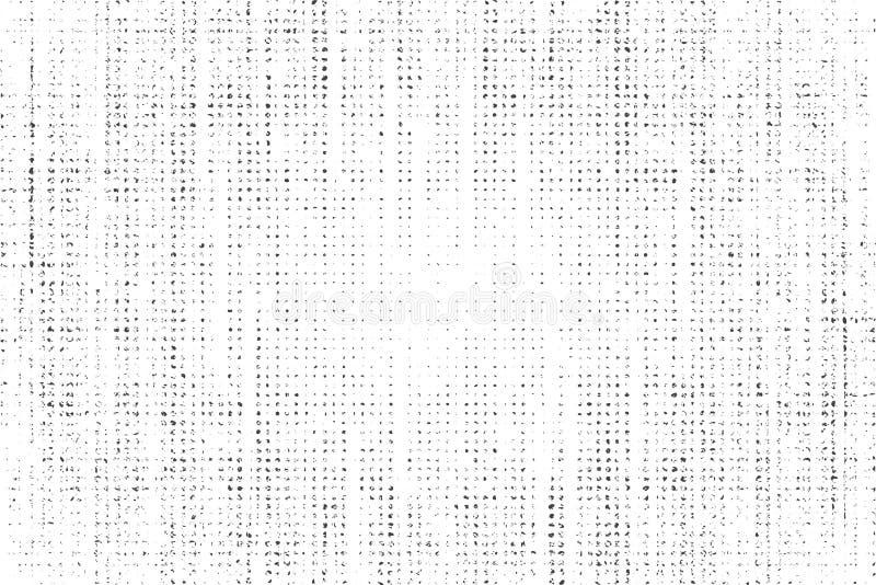 Aflição, textura da sujeira Ilustração do vetor Fundo do Grunge Teste padrão com quebras ilustração do vetor