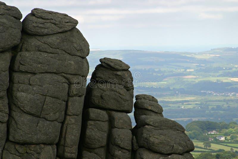 Download Afloramento do granito imagem de stock. Imagem de scenic - 57971
