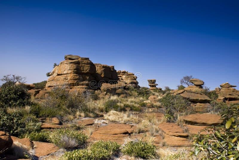 Afloramiento rocoso - paisaje fotos de archivo