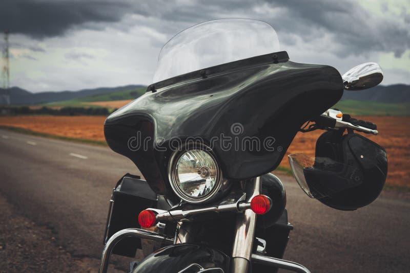 Afneembare motorfietsstroomlijnkap royalty-vrije stock afbeeldingen