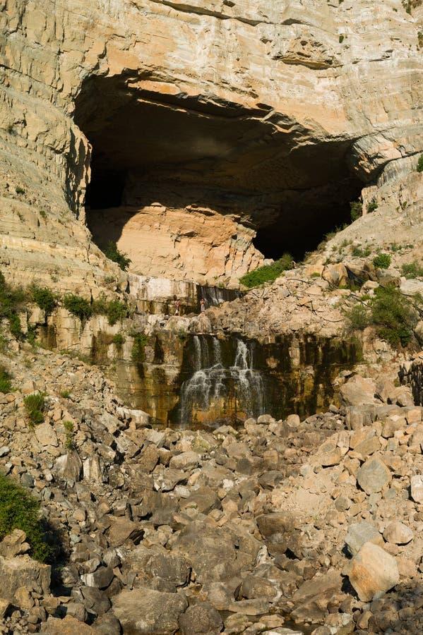 Afqa-Grotte stockfotografie