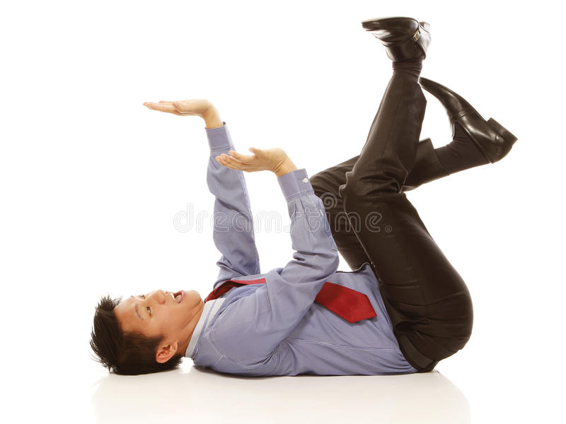 Download Afraid Of Being Crushed Royalty Free Stock Photos - Image: 26206988